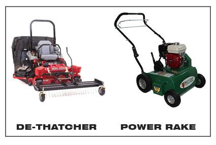 Power Raking Amp De Thatching Services Cutting Edge Lawn